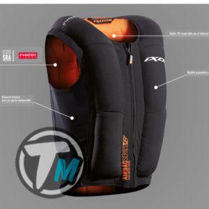 Chaleco homologado ISON con airbag para cualquier chaqueta*